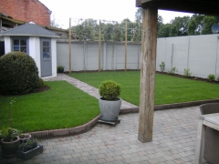 Aanleg compacte tuin