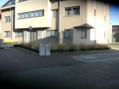 Aanleg tuin vooraan appartementsblok