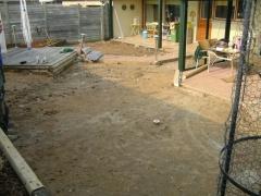 Uitgraven bestaand gazon