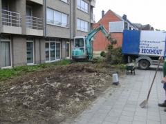 Aanleg tuinen appartementen