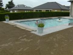 Aanleg tuin met zwembad